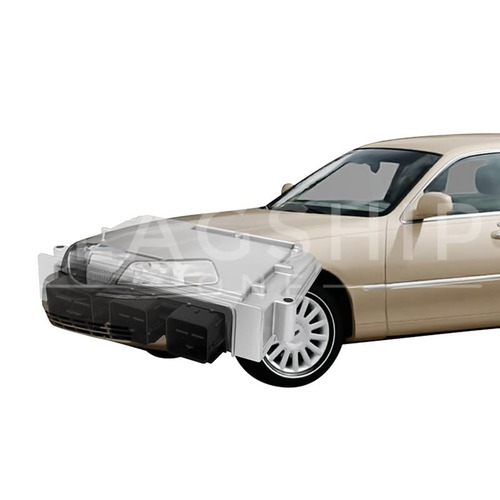 Engine Computer Programmed with Keys 2003 Lincoln Town Car 3W1A-12A650-AHC JAU2
